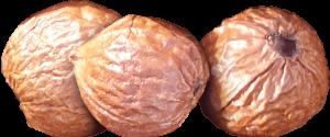 sandalwood nuts trio