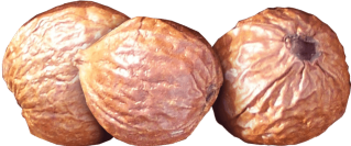 sandalwood nuts trio