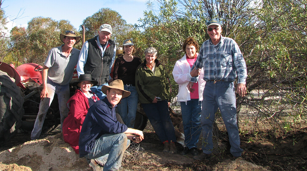 ASN members after sandalwood extraction day